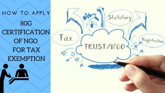 Tax Exemption - 80G Certification of NGO