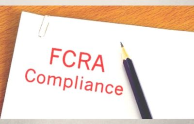 How to apply for FCRA?