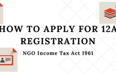 How to apply for 12A Registration of NGO Income Tax Act 1961