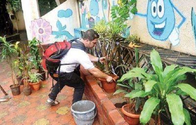 Israeli students install water-harvesting project in Mumbai school