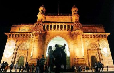 Gateway of India lit up for International Childhood Cancer Awareness