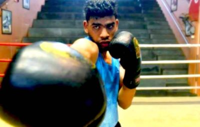 Once He Sold Newspapers, Now His Boxing Dreams Are Coming True
